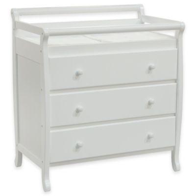 DaVinci Emily 3-Drawer Changer Dresser in White