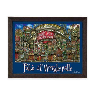 Pubs of Wrigleyville Framed Wall Art