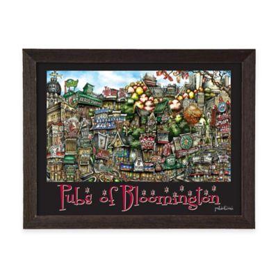 Pubs of Bloomington Framed Wall Art