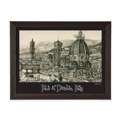 Pubs of Florence, Italy Framed Wall Art