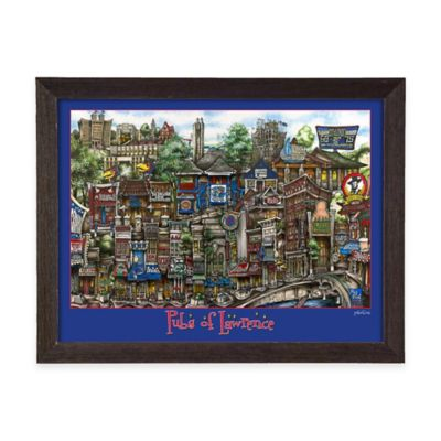 Pubs of Lawrence Framed Wall Art