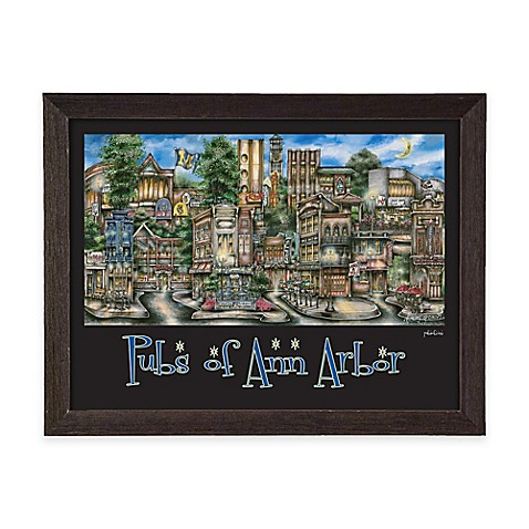 Pubs Of Ann Arbor Framed Wall Art