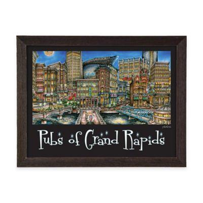 Pubs of Grand Rapids Framed Wall Art