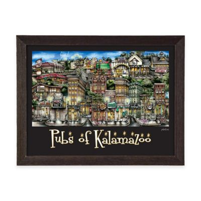 Pubs of Kalamazoo Framed Wall Art