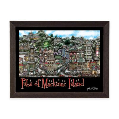 Pubs of Mackinac Island Framed Wall Art