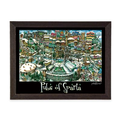 Pubs of Sparta Framed Wall Art