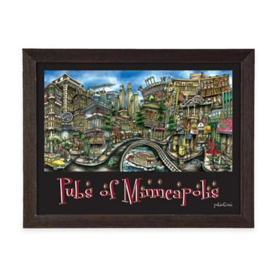 Pubs of Minneapolis Framed Wall Art