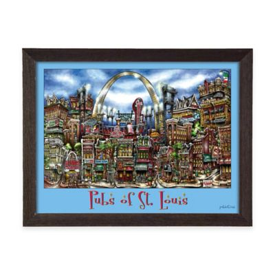 Pubs of St. Louis Framed Wall Art
