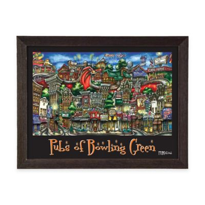 Pubs of Bowling Green Framed Wall Art
