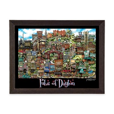 Pubs of Dayton Framed Wall Art
