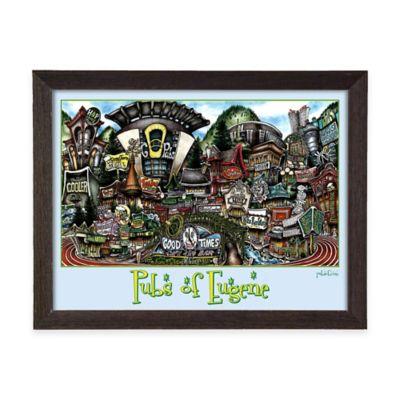 Pubs of Eugene Framed Wall Art