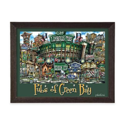 Pubs of Green Bay Framed Wall Art