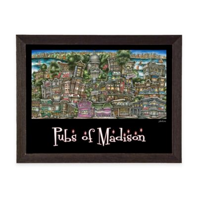 Pubs of Madison Framed Wall Art
