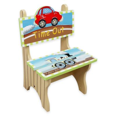 Teamson Fantasy Fields Transportation Kids Time Out Chair