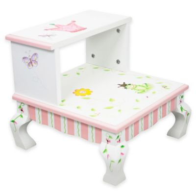 Teamson Fantasy Fields Princess and Frog Kids' Stepstool