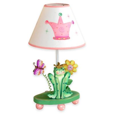 Fantasy Fields Princess & Frog Kids Table Lamp