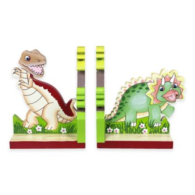 Teamson Fantasy Fields Dinosaur Kingdom Bookends Set