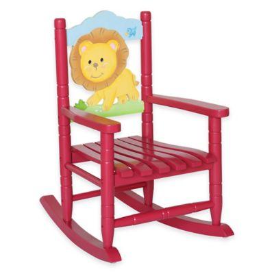 Teamson Kids Safari Lion Rocking Chair