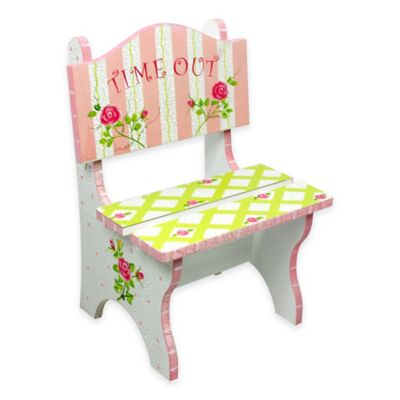 Fantasy Fields Time Out Chair in Crackled Rose