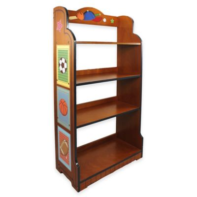 Fantasy Fields Lil Sports Fan Kids Bookcase