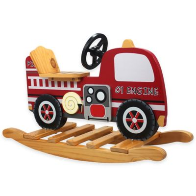 Teamson Kids Fire Engine Rocker