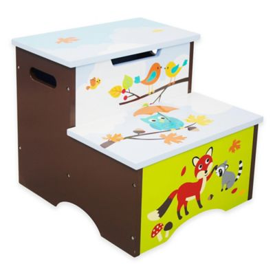 Teamson Fantasy Fields Enchanted Woodland Kids Step Stool