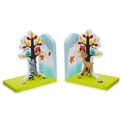 Teamson Fantasy Fields Enchanted Woodland Bookends Set