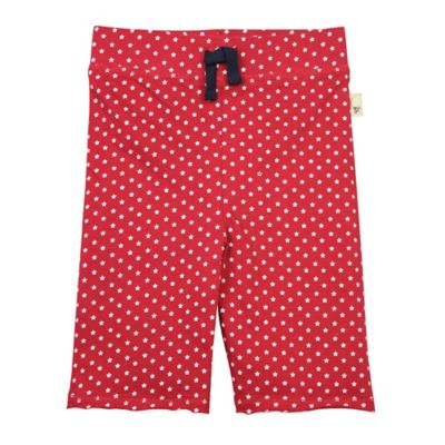 Burt's Bees Baby® Size 3T Organic Cotton Star Capri Pant in Red