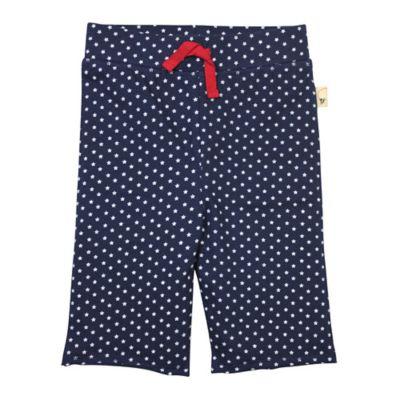 Burt's Bees Baby® Size 3T Organic Cotton Star Capri Pant in Navy