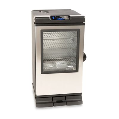 Masterbuilt 40-Inch Bluetooth Smoker in Silver/Black