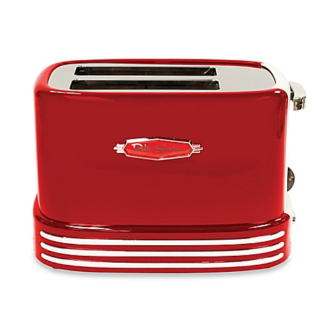 Nostalgia Electrics Retro 2 Slice Toaster In Red Bed
