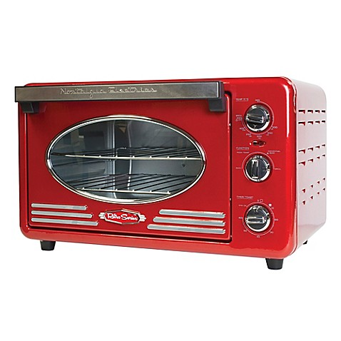 Buy Nostalgia Electrics Retro Toaster Oven In Red From