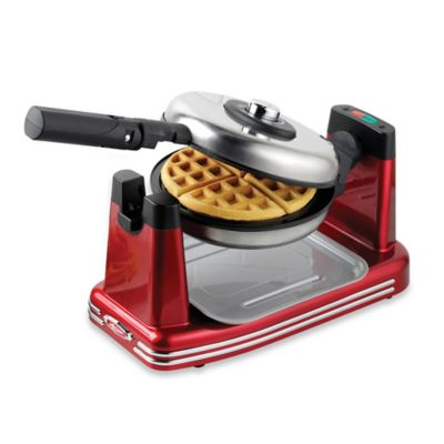 Nostalgia™ Electrics Retro Flip Waffle Maker in Red