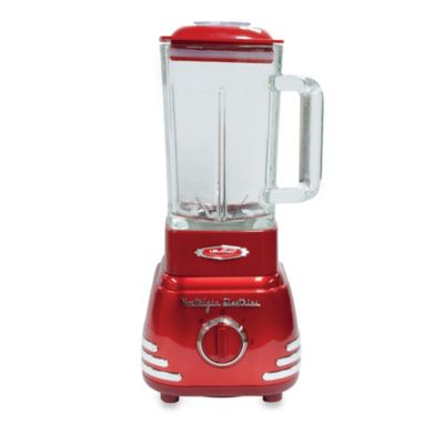 Nostalgia™ Electrics Retro Blender in Red