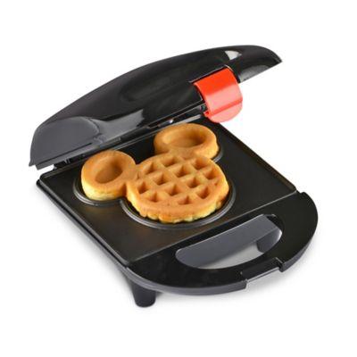 Disney® Mickey Mouse Mini Waffle Maker in Black