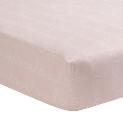 Lambs & Ivy® Sweetheart Fitted Crib Sheet