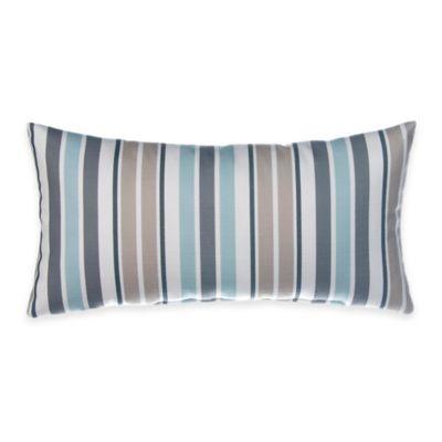 Glenna Jean Luna Rectangular Striped Throw Pillow