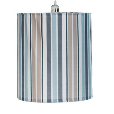 Glenna Jean Luna Striped Hanging Drum Shade Kit