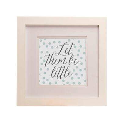"Glenna Jean Luna ""Let Them Be Little"" Framed Wall Art"