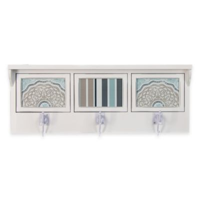 Glenna Jean Luna 3-Opening Photo Hanger Shelf