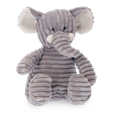 Grey Plush Elephant