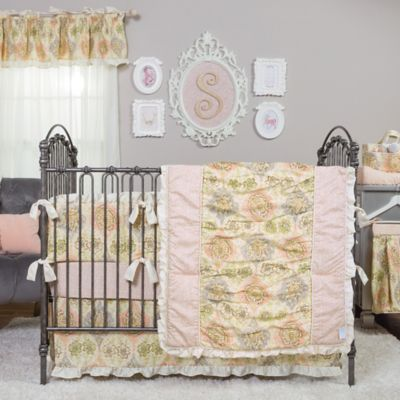 Trend Lab® Waverly® Rosewater Glam 3-Piece Crib Bedding Set