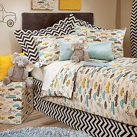 Glenna Jean Traffic Jam Bedding Collection Bed Bath Amp Beyond