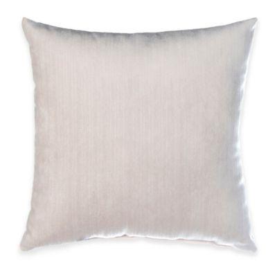 Glenna Jean Traffic Jam Velvet Throw Pillow in White
