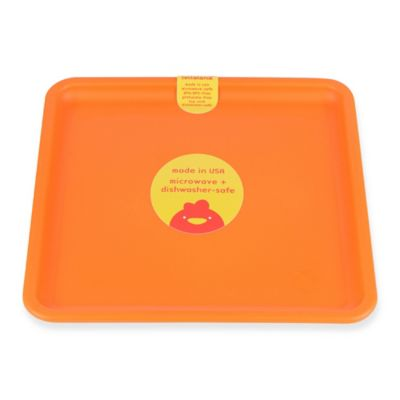 Lollaland® Square Plate in Happy Orange