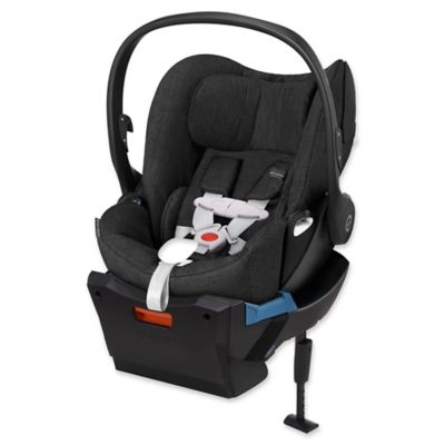Cybex Cloud Q Plus Infant Car Seat with Load Leg Base in Black Beauty Denim