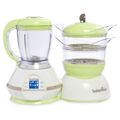 Babymoov® Nutribaby Zen Food Processor in Green/Taupe