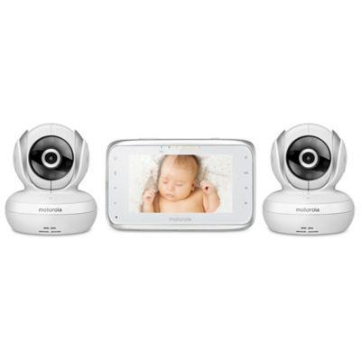 Motorola® MBP38S-2 Digital Video Baby Monitor with 2 Cameras