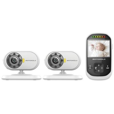 Motorola® MBP25-2 Digital Video Baby Monitor with 2 Cameras