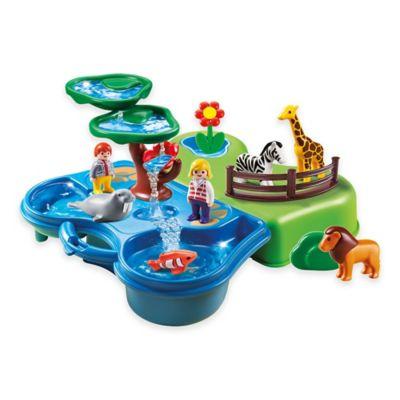 Playmobil® Take-Along Zoo and Aquarium